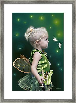 Fairy Princess Framed Print by Brian Wallace
