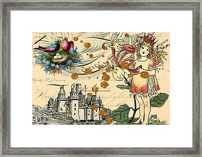 Fairy Princess Framed Print by Myrna Jackson