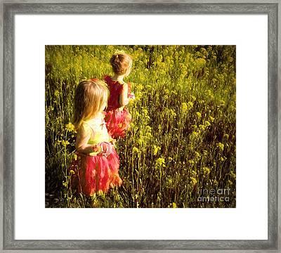 Fairy Princesses Framed Print