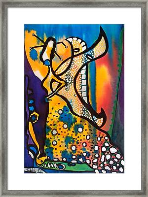 Fairy Queen - Art By Dora Hathazi Mendes Framed Print by Dora Hathazi Mendes