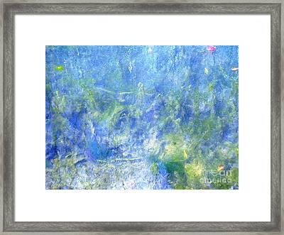 Fairy Ring Beneath The Surface Framed Print