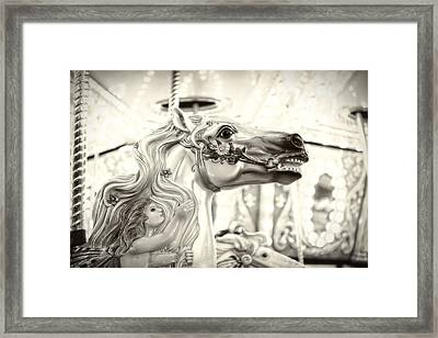 Fairy Steed Framed Print by Caitlyn  Grasso