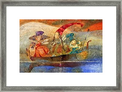 Fairy Framed Print by Svetlana and Sabir Gadzhievs