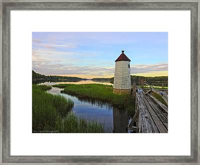 Fairy Tale On The River Framed Print