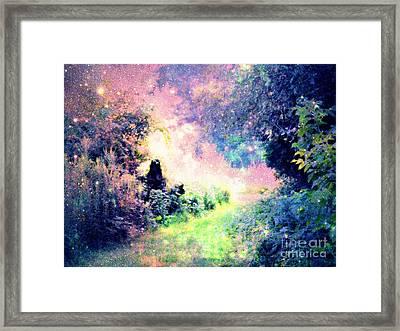 Fairy Tale Path Framed Print by Johari Smith
