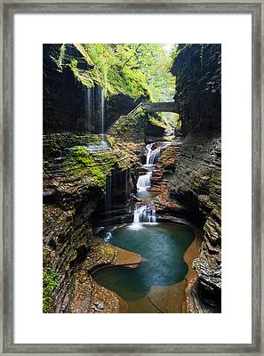 Fairy Tale Trail Framed Print by Adam Pender