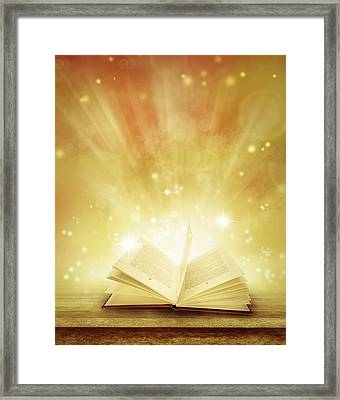 Fairy Tales Framed Print by Les Cunliffe