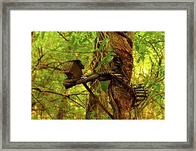 Fairy Tree Framed Print by Susan Vineyard