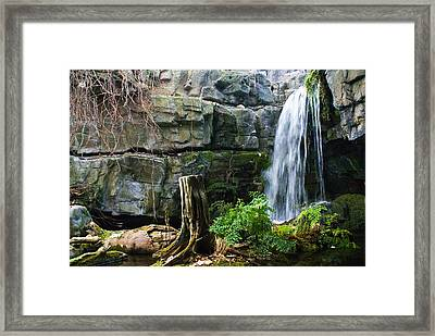 Fairy Waterfall Framed Print