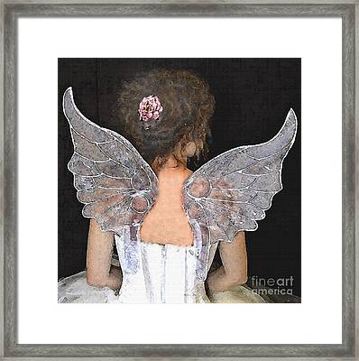 Fairy Wings Framed Print