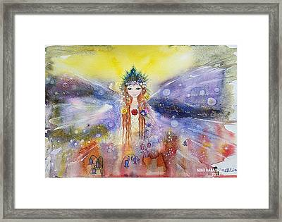 Fairy World Framed Print
