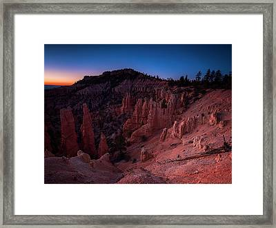 Fairyland Canyon Framed Print
