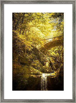 Fairyland In Matthiessen Framed Print by Kathleen Scanlan