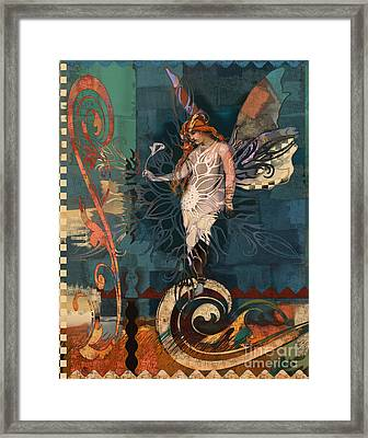 Fairyland Two Framed Print by Carrie Joy Byrnes
