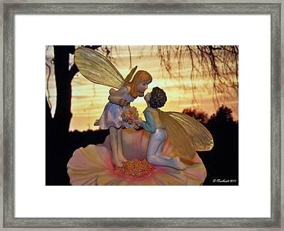 Fairy's First Kiss Framed Print