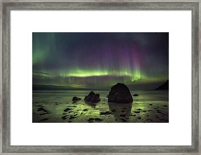 Fairytale Beach Framed Print