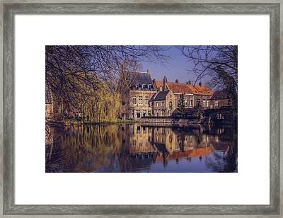 Fairytale Bruges  Framed Print by Carol Japp