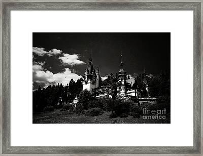 Fairytale Castle Framed Print by Gabriela Insuratelu