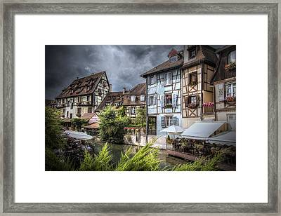Fairytale Colmar, France Framed Print by Sandra Rugina
