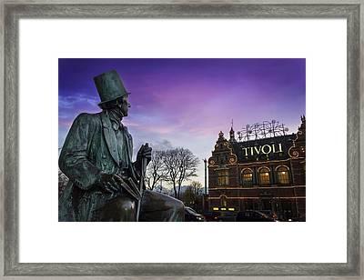 Fairytale In Copenhagen Framed Print by Carol Japp
