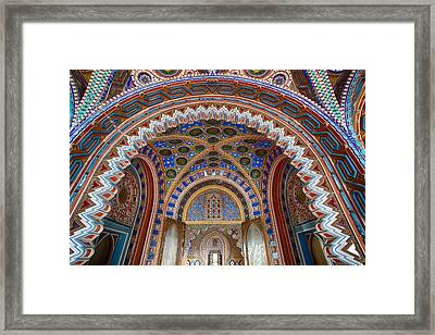 Fairytale Palace - Abandoned Castle Framed Print by Dirk Ercken