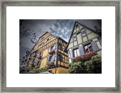 Fairytale Riquewihr, Alsace Framed Print
