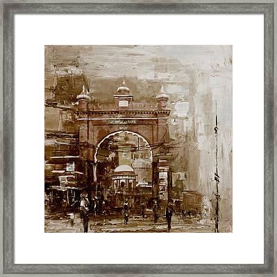 Faisalabad 4b Framed Print by Maryam Mughal