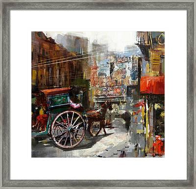 Faisalabad 8 Framed Print by Maryam Mughal