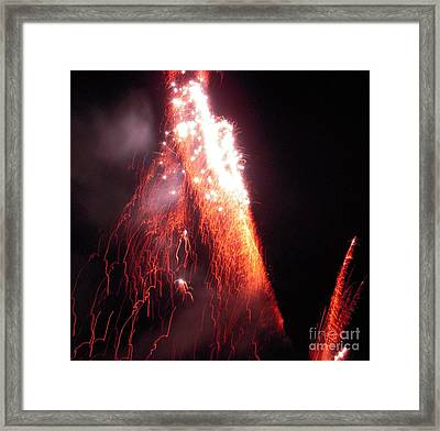 Fait In The Night Framed Print