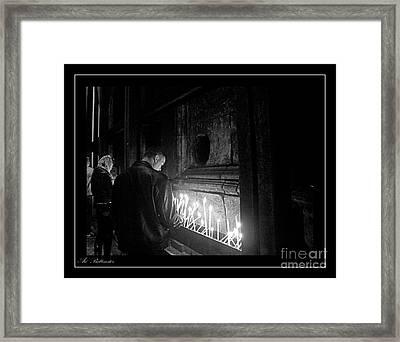 Faith 2 Framed Print by Arik Baltinester