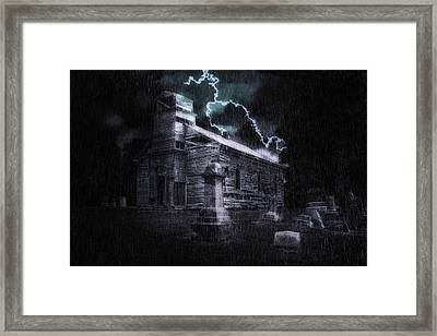Faith And Fury Framed Print by Tom Mc Nemar