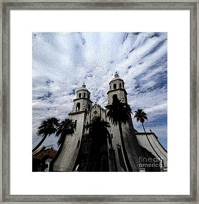 Faith Arizona Framed Print