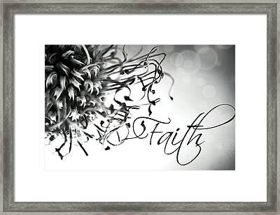Framed Print featuring the photograph Faith by Bobby Villapando