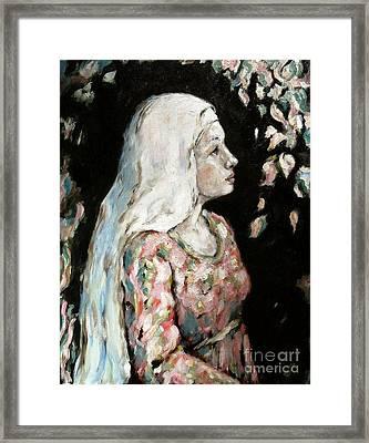 Faith Framed Print by Carrie Joy Byrnes