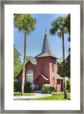 Faith Chapel Framed Print