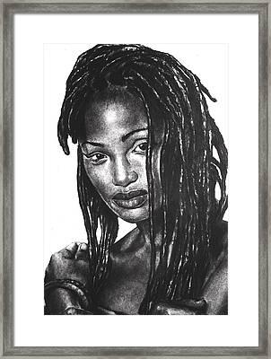 Faith Framed Print by Curtis James