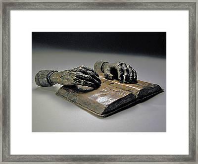 Faith Framed Print by Eduardo Gomez
