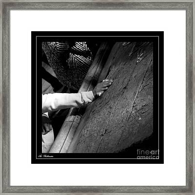 Faith Hands 2. Framed Print