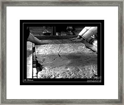Faith Hands. Framed Print