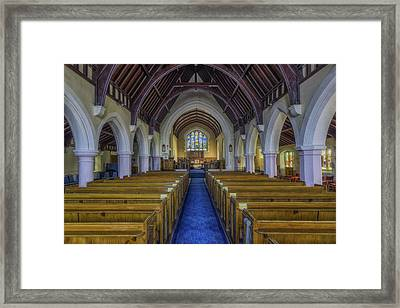Faith Hope And Love Framed Print