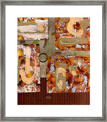 Faith Hope Love Framed Print by Angela L Walker