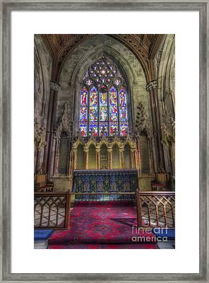 Faith In God Framed Print by Ian Mitchell