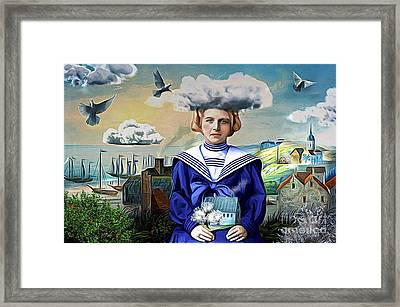 Faith In The Future Framed Print by Alexis Rotella