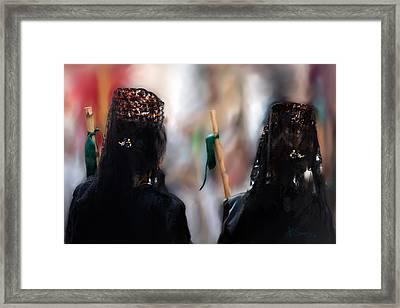 Framed Print featuring the photograph Faith by Juan Carlos Ferro Duque
