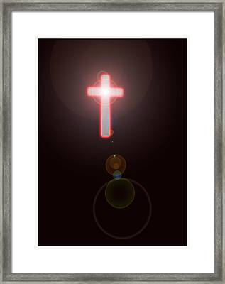 Faith Framed Print by Richard N Watkins