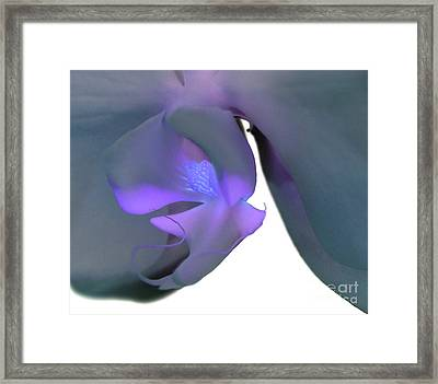 Faith Surrounds Framed Print by Krissy Katsimbras
