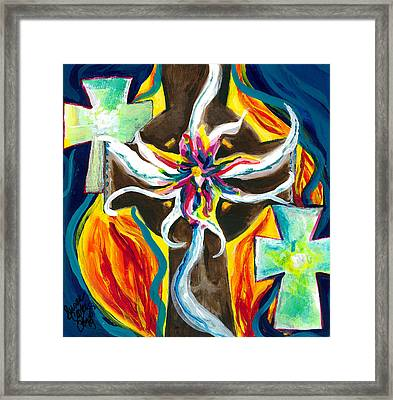 Faith Framed Print by Susan Cooke Pena