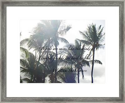 Faithful Friends Framed Print by Karon Melillo DeVega