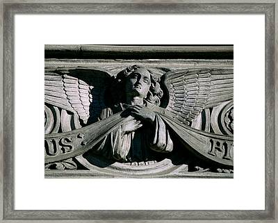 Framed Print featuring the photograph Faithful by Kenneth Campbell