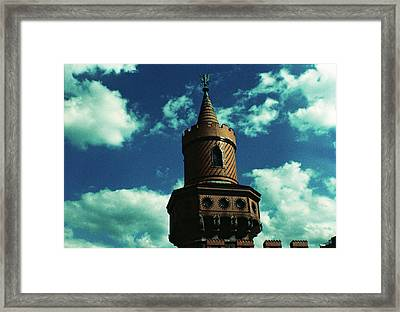 Fake German Castle Or Oberbaumbruecke Framed Print